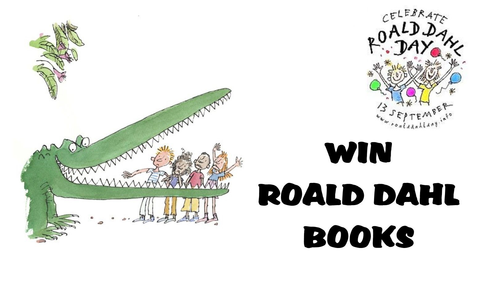 WIN Roald Dahl Books