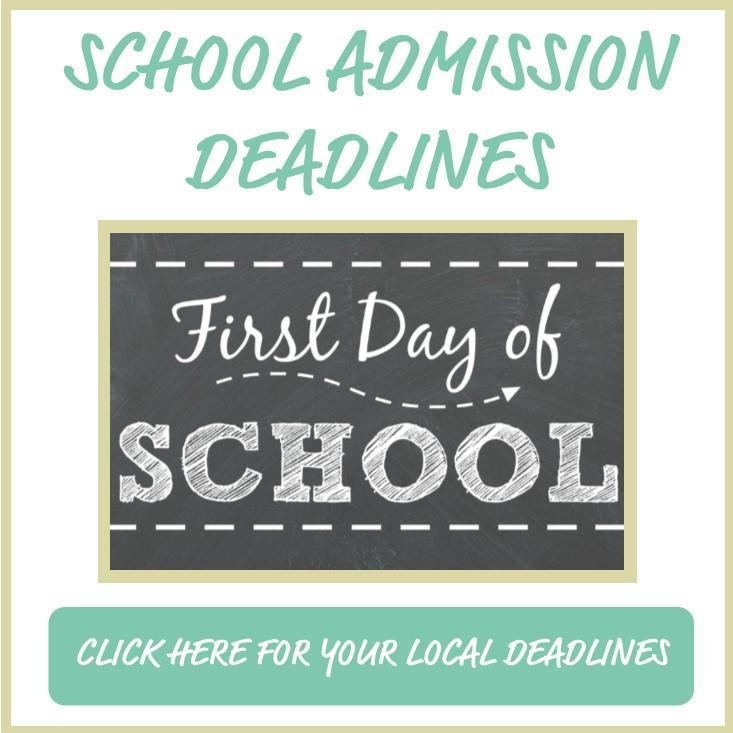 School Admission Deadlines