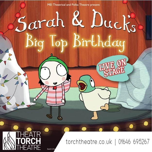 Sarah and Duck at Torch Theatre