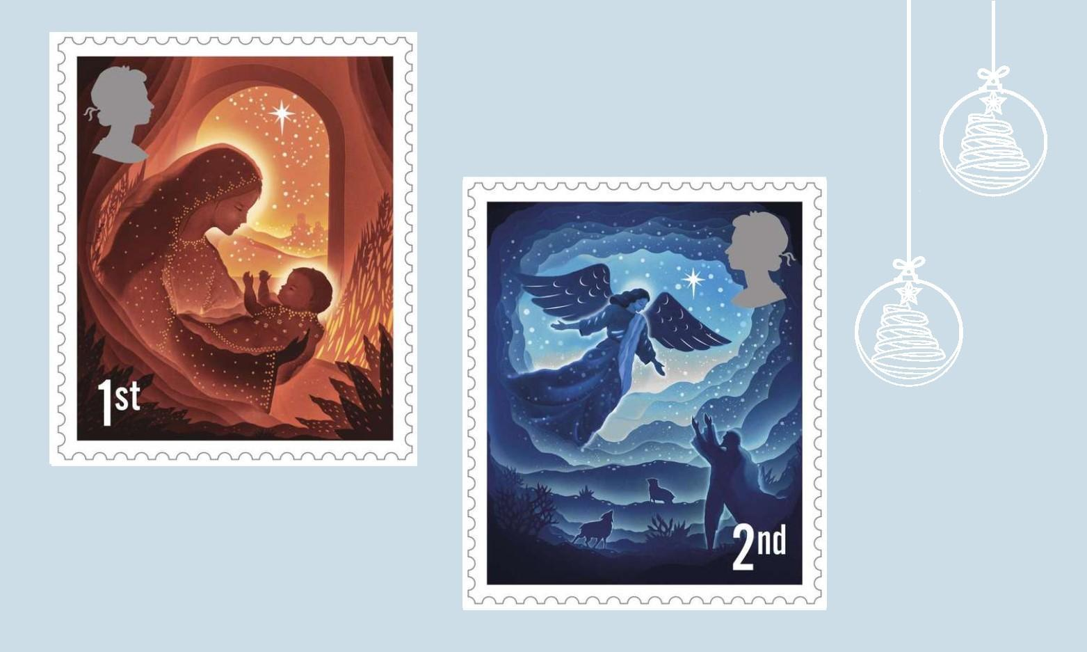 Royal Mail Release Christmas 2019 Stamps