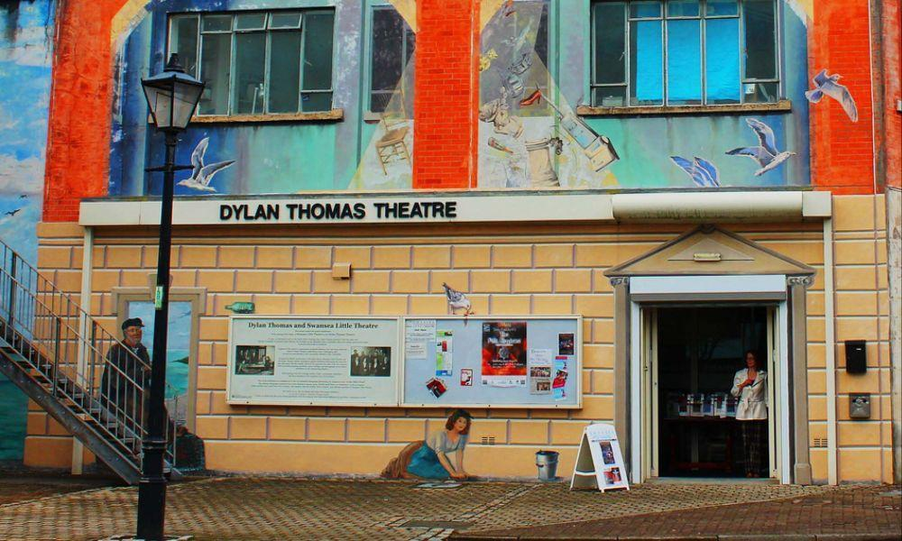 The Dylan Thomas Theatre in Swansea