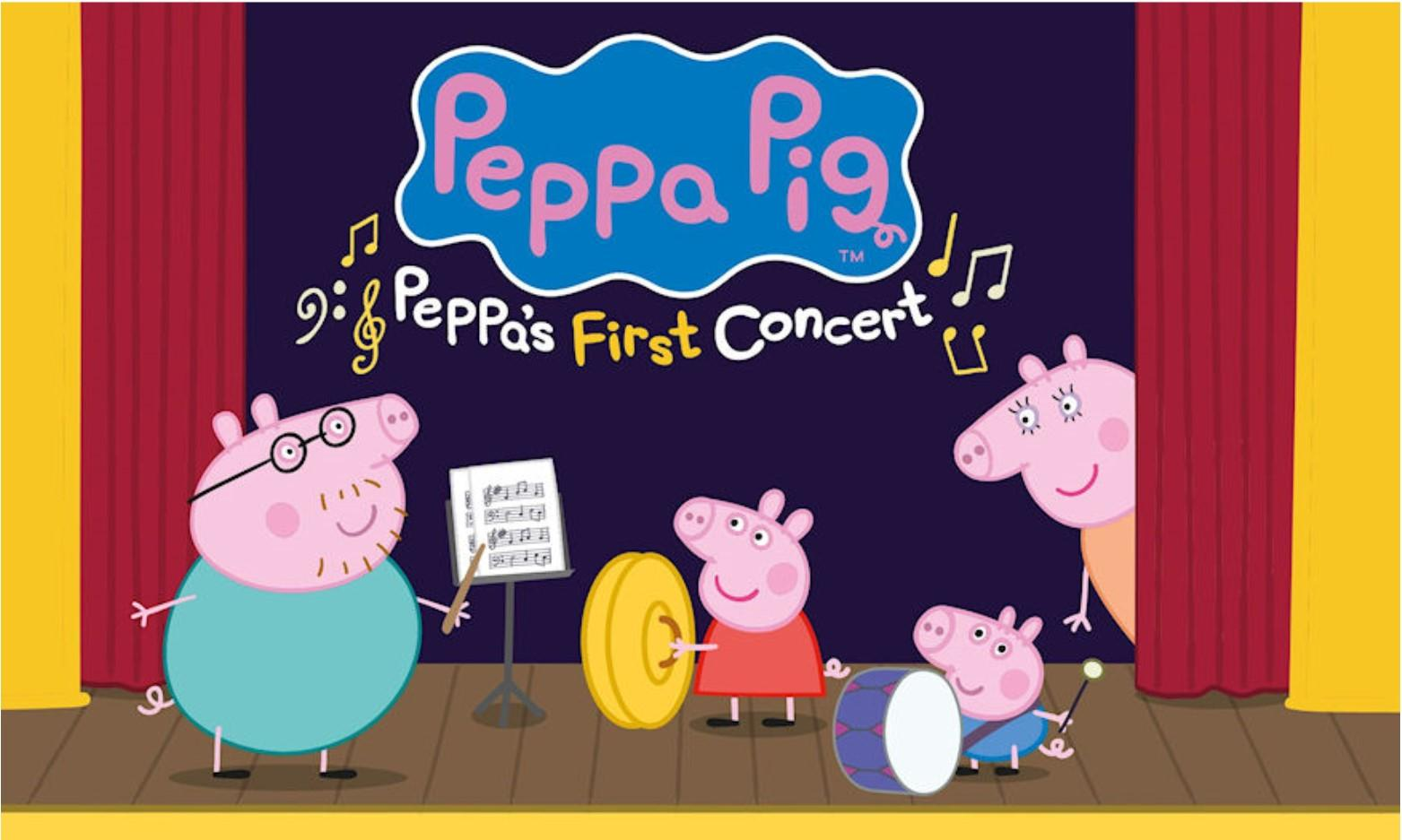 Peppa Pig My First Concert at St David's Hall